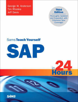 Sams Teach Yourself SAP in 24 Hours by George W Anderson image