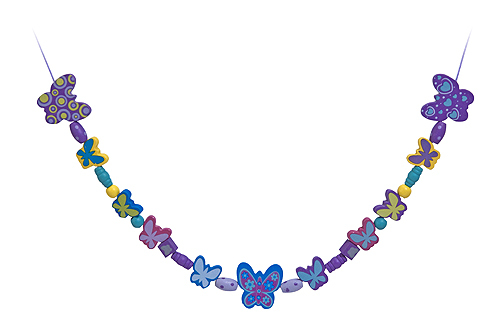 Melissa & Doug: Butterfly Friends Wooden Bead Set image