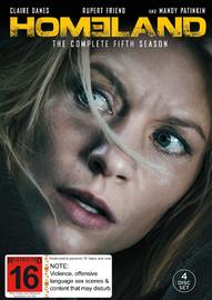 Homeland - Season 5 DVD