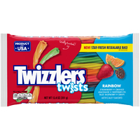 Twizzlers Big Bag Rainbow Twists - 352g