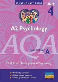 AQA (A) Psychology A2: Unit 4 by Cara Flanagan image