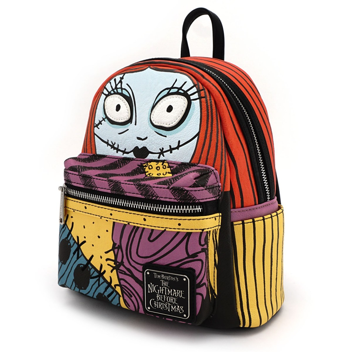ccd0a088e7a ... Loungefly Disney Nightmare Before Christmas Sally Cosplay Mini Backpack  image