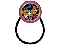 Pokemon: Kirie Series - Hair Tie (Eevee B)