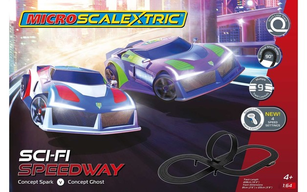 Micro Scalextric Sci-Fi Speedway Set