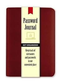 Password Journal: Pomegranate by Publications Dover