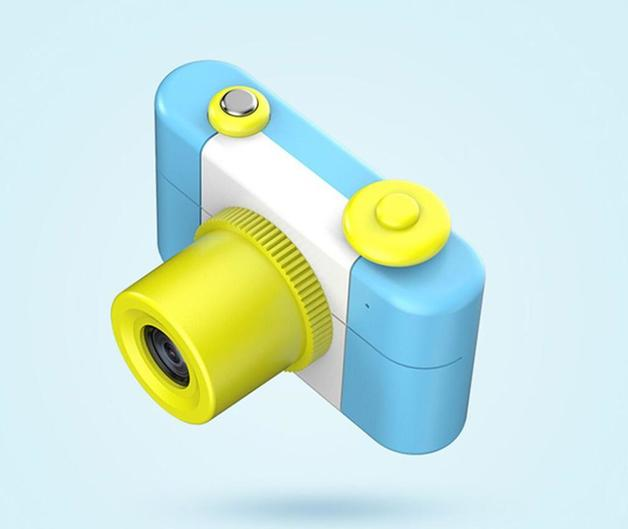 Kid Toy Digital Camera 2MP - Blue