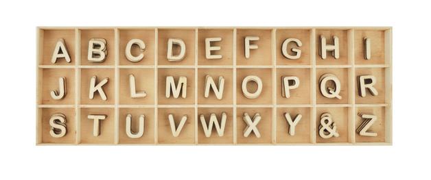 Kaisercraft: Lucky Dip Wooden Alphabet Set