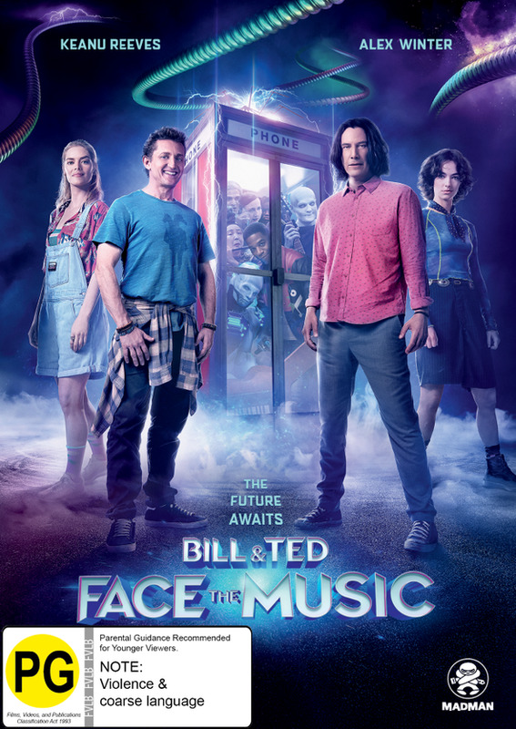 Bill & Ted Face The Music on DVD