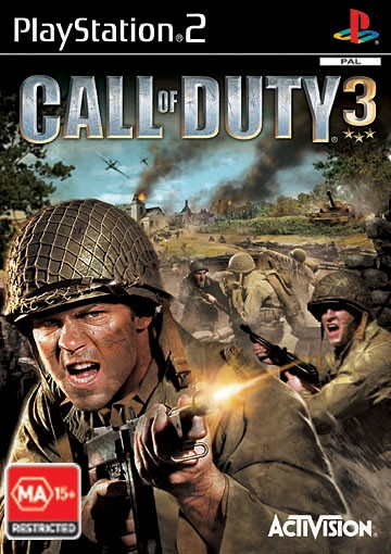 Call Of Duty 3 (Platinum) for PS2 image