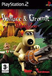 Wallace & Gromit in Project Zoo for PlayStation 2