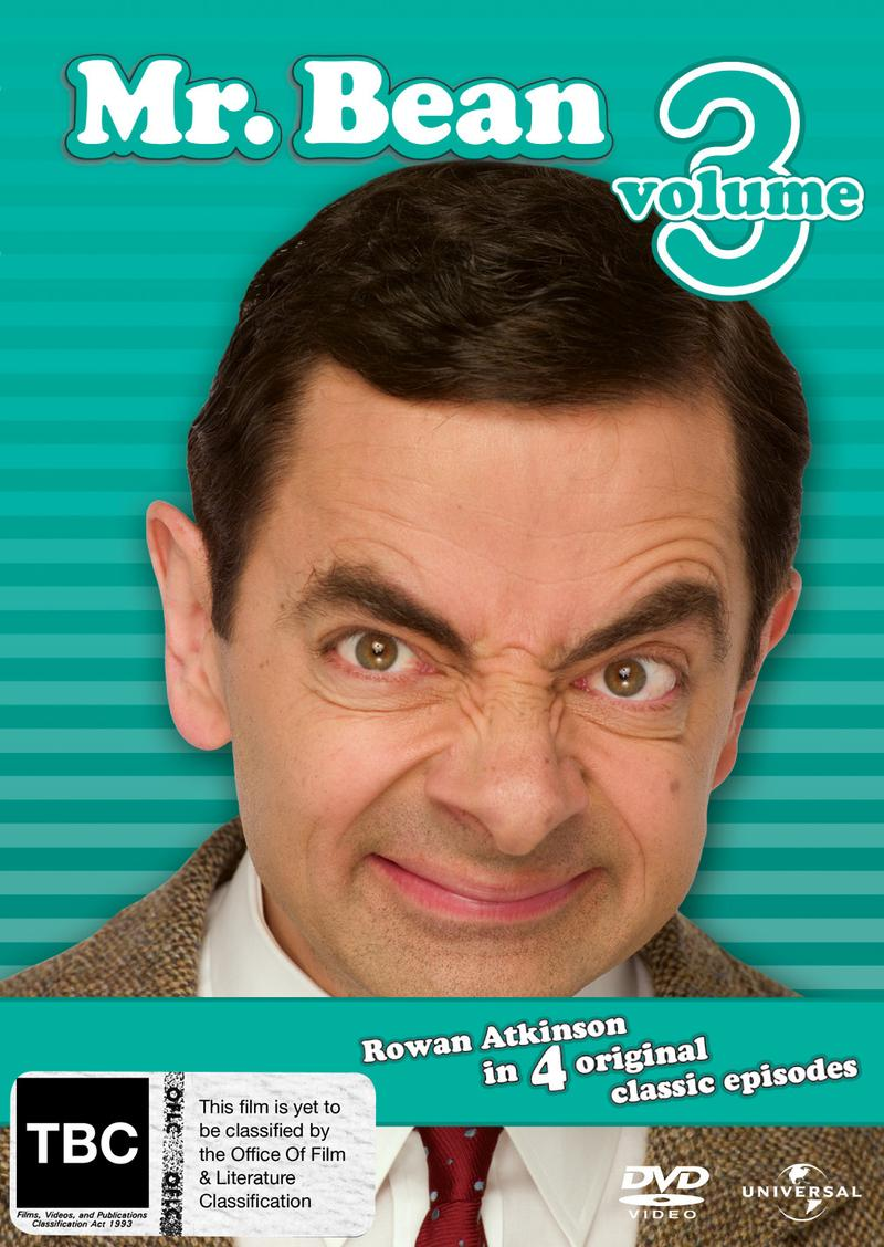 Mr. Bean - Volume 3 on DVD image