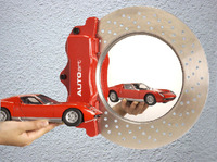 AUTOart Centre Lock Nut Photo Frame