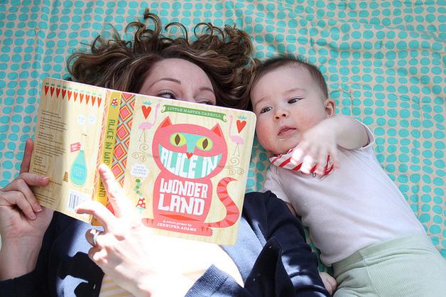 Little Master Carroll Alice in Wonderland: A BabyLit Colors Primer by Jennifer Adams
