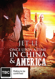 Once Upon a Time in China and America on DVD