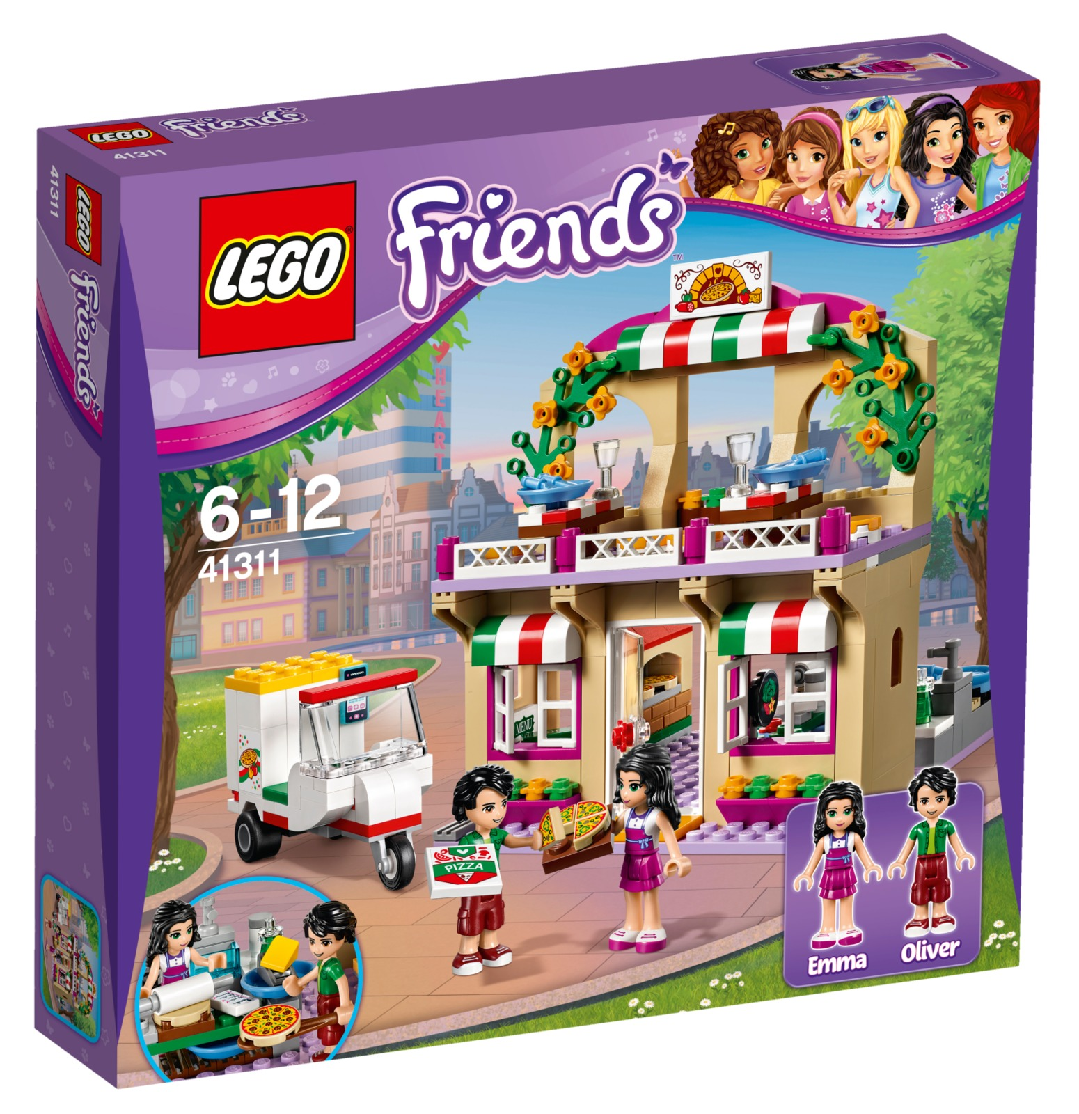 LEGO Friends: Heartlake Pizzeria (41311) image