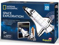 National Geographic: Space Shuttle Discovery - 65 Piece 3D Puzzle