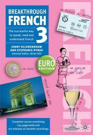 Breakthrough French 3: Euro Edition by Jenny Ollerenshaw image
