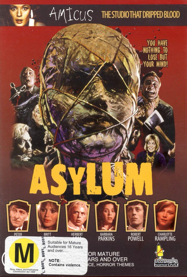 Asylum on DVD image