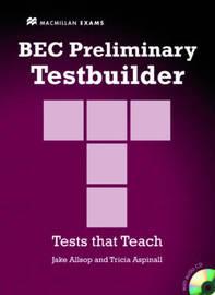 BEC Preliminary Testbuilder by Allsop J et el image
