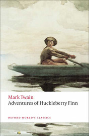 Adventures of Huckleberry Finn by Mark Twain )