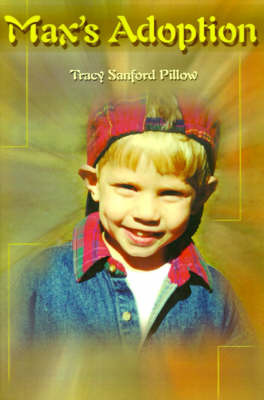 Max's Adoption by Tracy Sanford Pillow image
