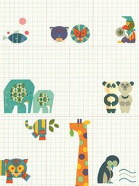 Animal Adventures Sticky Notes (Junzo Terada) by Junzo Terada