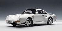 AUTOart 1:18 Porsche 959 (Silver) Diecast Model