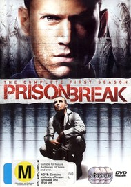 Prison Break - Complete Season 1 (6 Disc Set) on DVD image