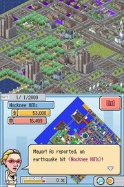 SimCity for Nintendo DS image