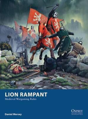 Lion Rampant by Daniel Mersey