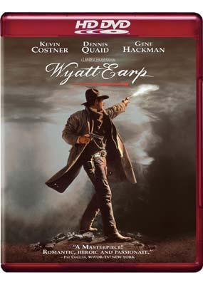 Wyatt Earp on HD DVD image