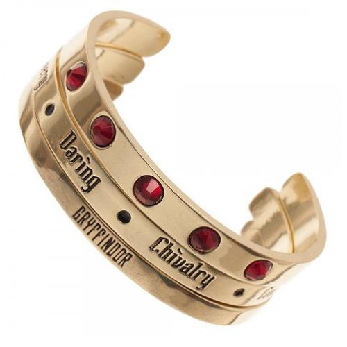 Harry Potter: Gryffindor - Cuff Bracelet Set (3-Pack) image