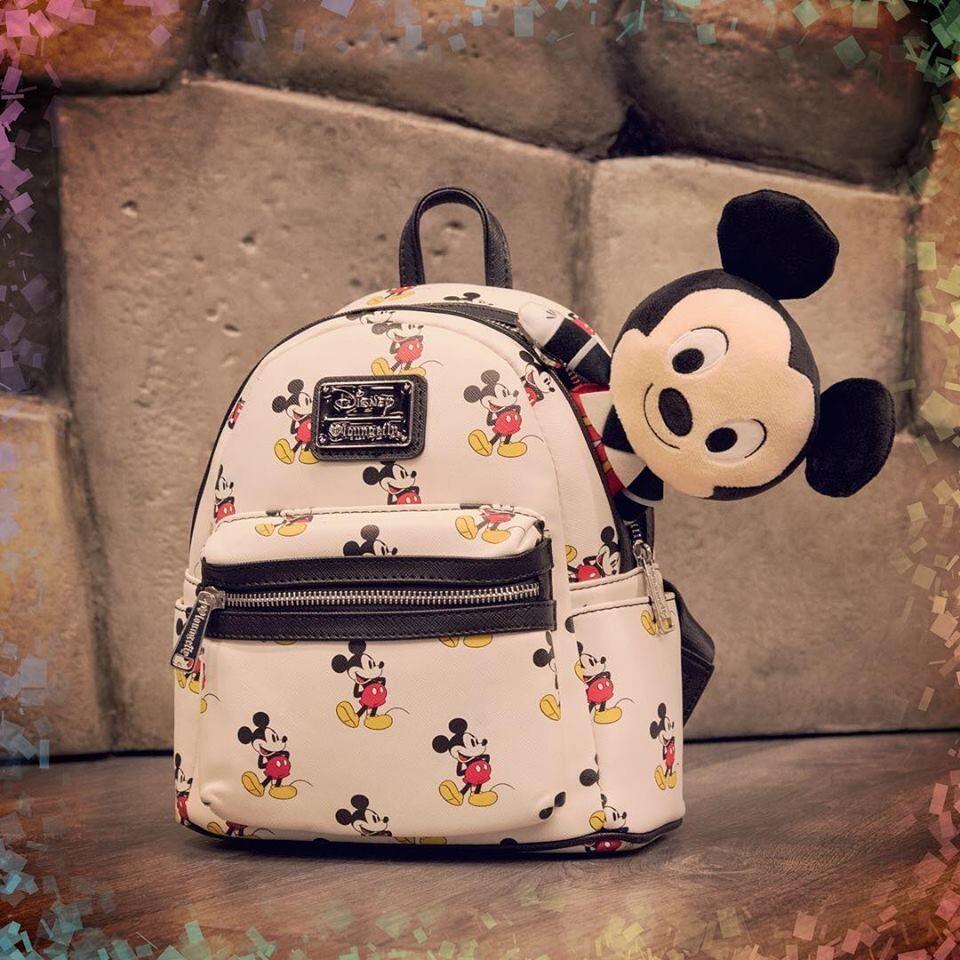 1061846494fb Mickey Mouse - Print Mini Backpack