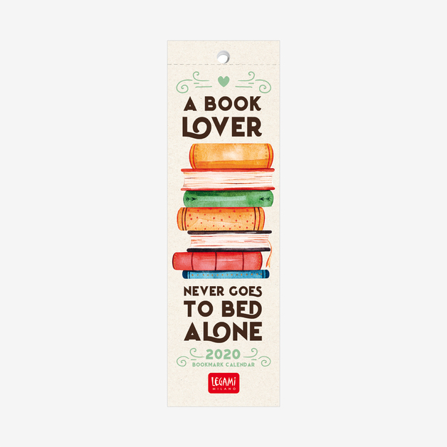 Ipo Calendar 2020 Buy Legami: Book Lover's 2020 Bookmark Calendar at Mighty Ape