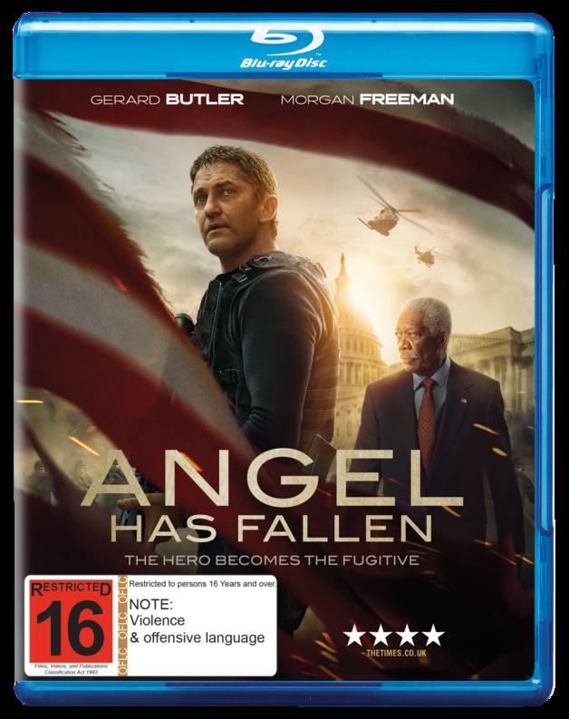 Angel Has Fallen on Blu-ray