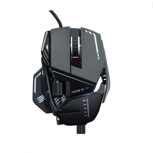Mad Catz R.A.T. 8+ Gaming Mouse (Black) for PC