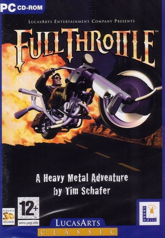 Full Throttle (Essential) for PC Games