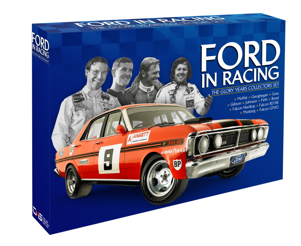 Ford In Racing: The Glory Years Collector's Set (Limited Release) on DVD image