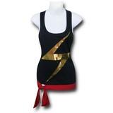 Ms. Marvel Tie Waist Racerback Tank Top (Large)