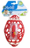 Oball: Grab n Rattle Football - Red