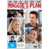 Maggie's Plan on DVD