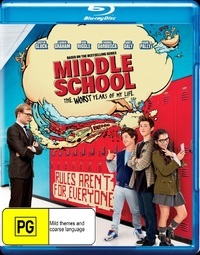 Middle School: The Worst Years of My Life on Blu-ray