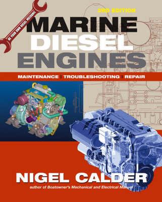 Marine Diesel Engines, BRITISH ED by Nigel Calder image