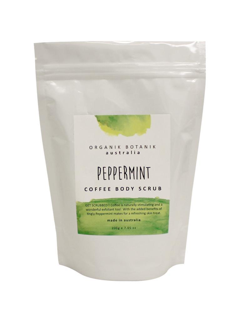 Organik Botanik Splotch Coffee Body Scrub - Peppermint (200g) image