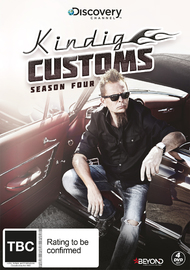 Kindig Customs: Season Four on DVD