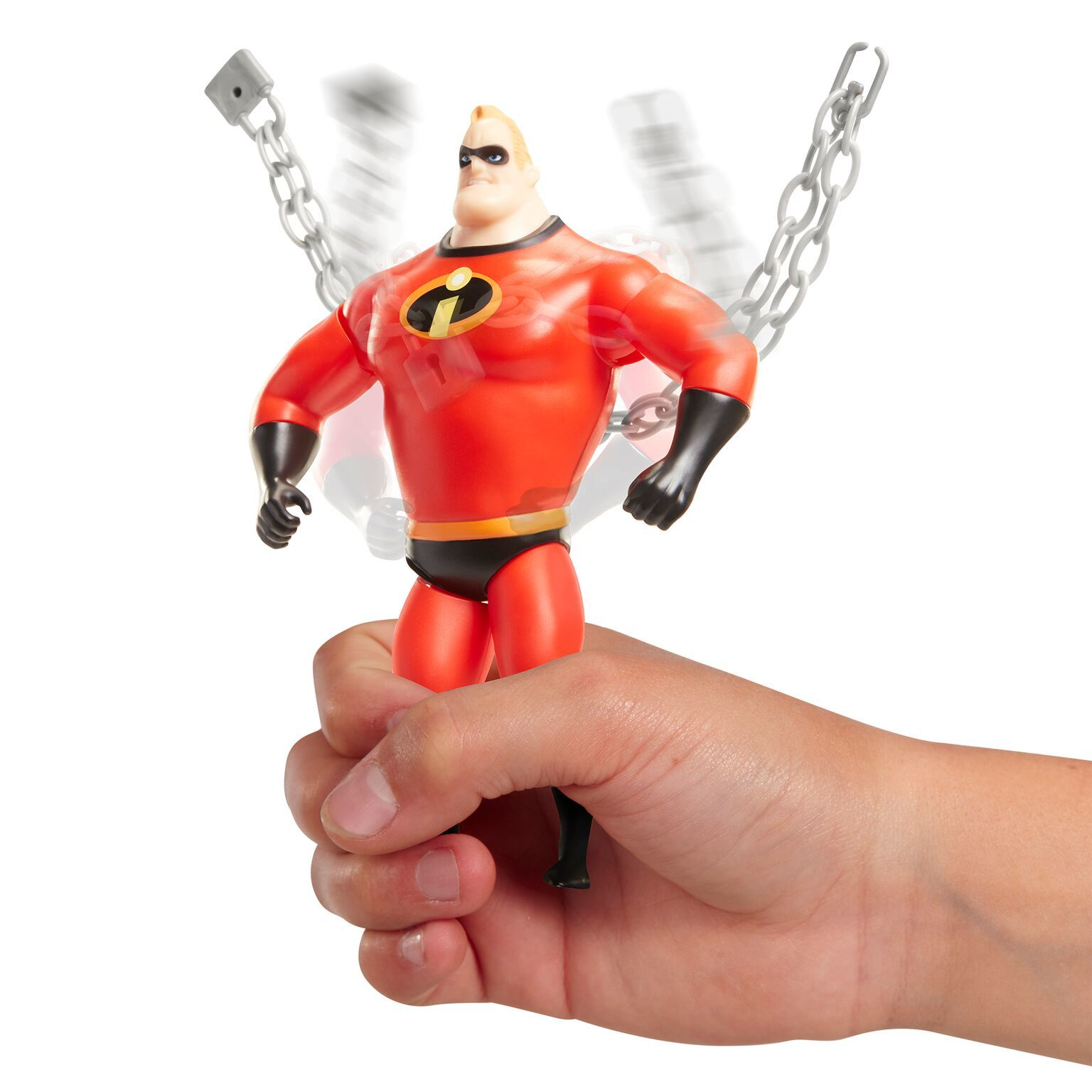 Incredibles 2: Chain Bustin' Mr Incredible - 15cm Feature Figure image