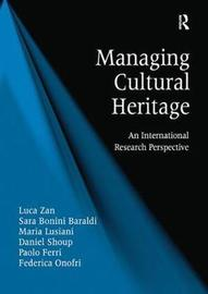 Managing Cultural Heritage by Luca Zan image