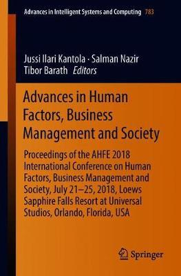 Advances in Human Factors, Business Management and Society image