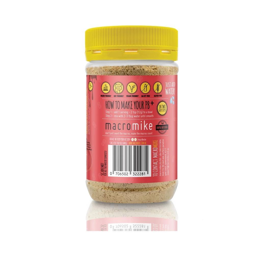 Macro Mike PB+ Powdered Peanut Butter - Choc Hazelnut (180g) image