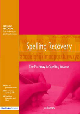 Spelling Recovery by Jan Roberts image